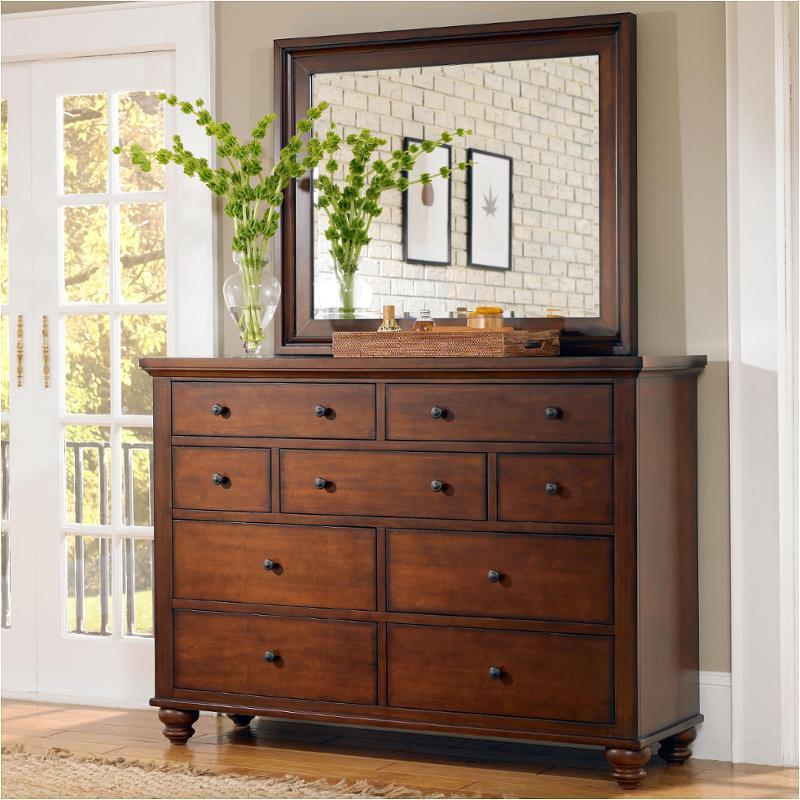 Icb 455 Bch Aspen Home Furniture Cambridge Chesser Brown Cherry