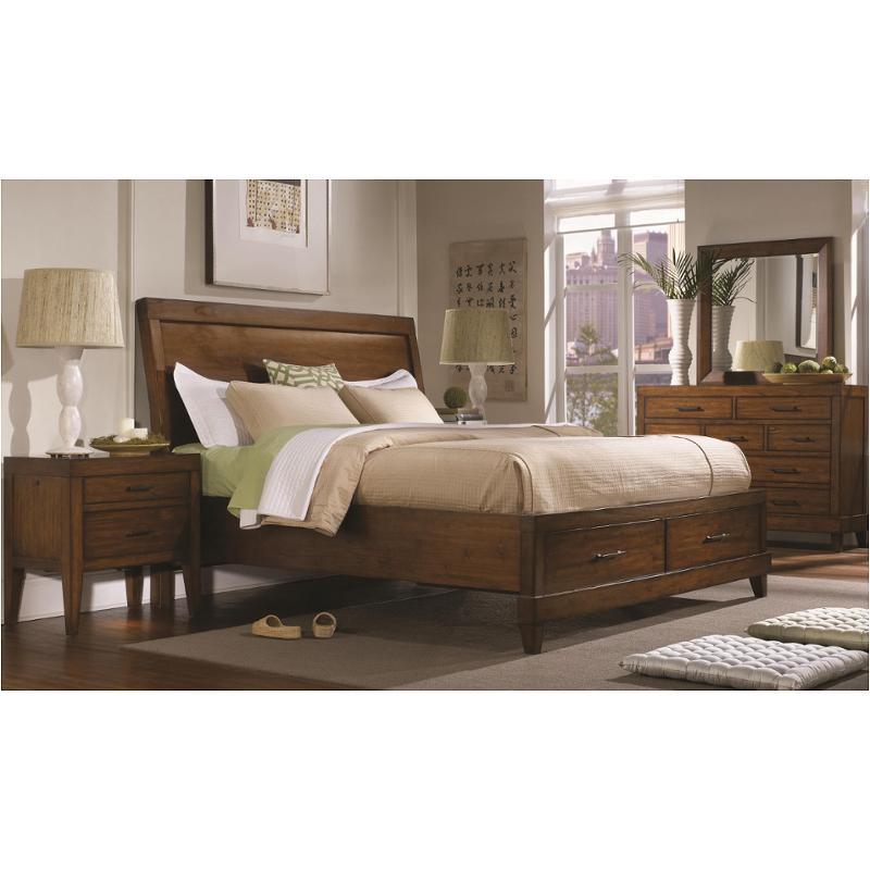 I68 404 St Aspen Home Furniture Tamarind Bedroom King Storage Bed