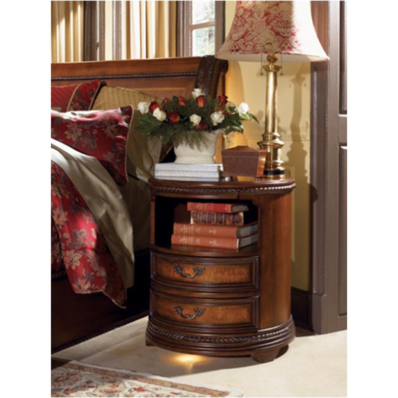 I74 451 3 Aspen Home Furniture Napa Bedroom Round Nightstand