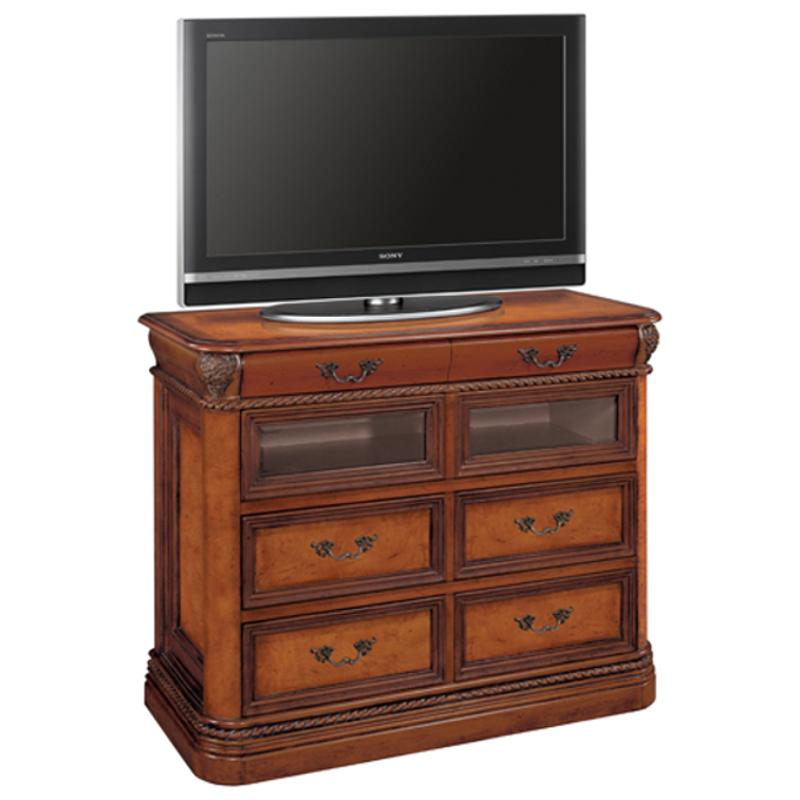 I74 485 3 Aspen Home Furniture Napa Bedroom Entertainment Chest