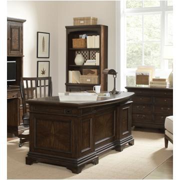 I24 303 Aspen Home Furniture Essex 66in Curved Executive Desk