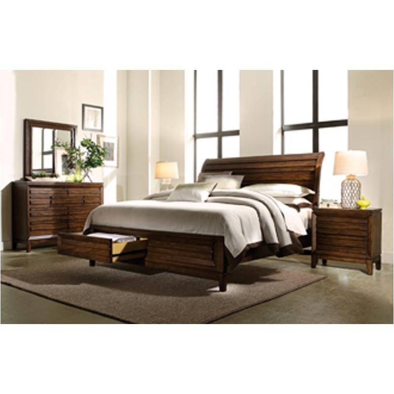 I05 404 Ck St Aspen Home Furniture Walnut Park Bed