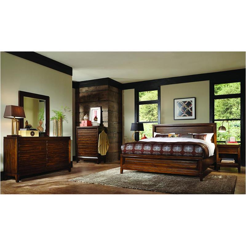 I05 415 Aspen Home Furniture Walnut Park Bed