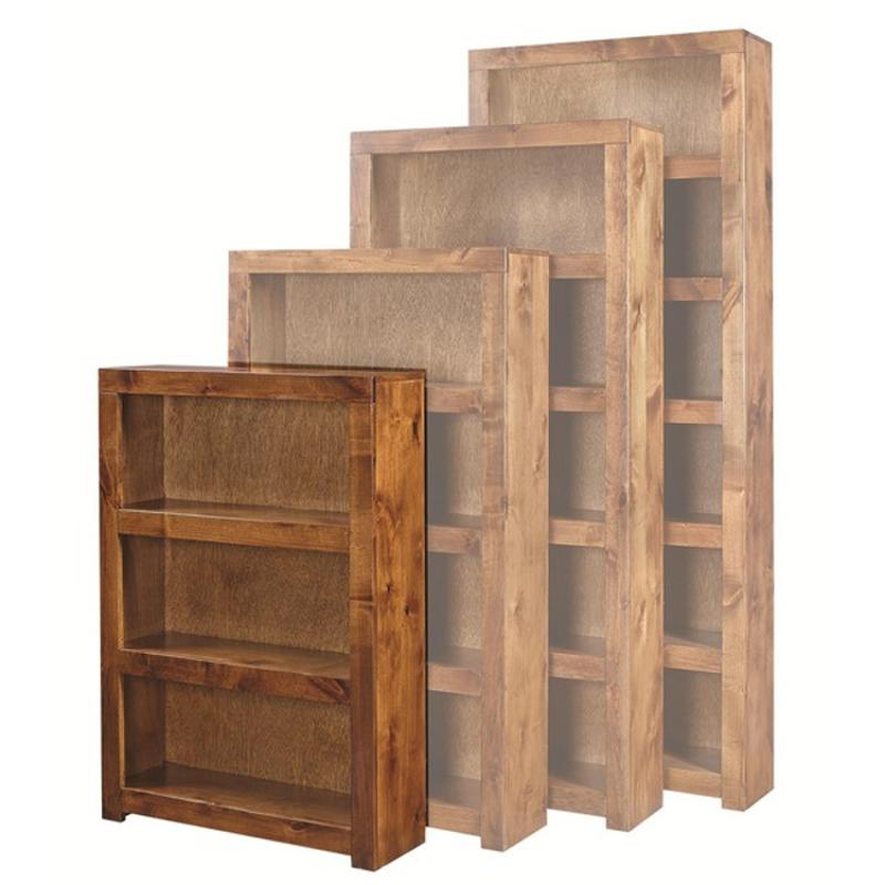Dl3448 Frt Aspen Home Furniture 48in Bookcase Fruitwood
