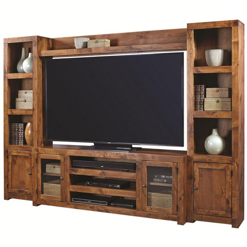 Dl1173 Frt Aspen Home Furniture Contemporary Alder 72in Bridge Fruitwood
