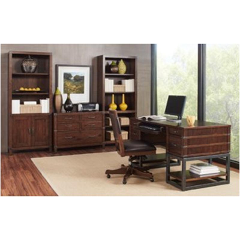 Icf 371t Aspen Home Furniture Canfield 61in Half Ped Desk Top