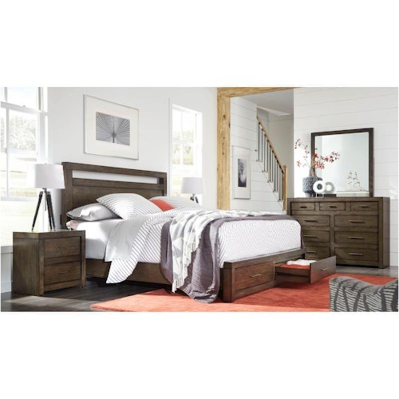 Iml-412-brn-st Aspen Home Furniture Queen Panel Bed St