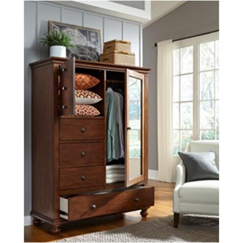 I07-459-wbr Aspen Home Furniture Oxford Bedroom Chest Chiffarobe
