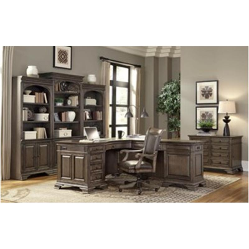 I92 308 Aspen Home Furniture Arcadia Home Office Return Desk