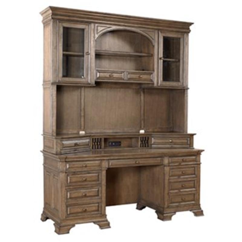 I92 319 Aspen Home Furniture Arcadia 72in Credenza Hutch