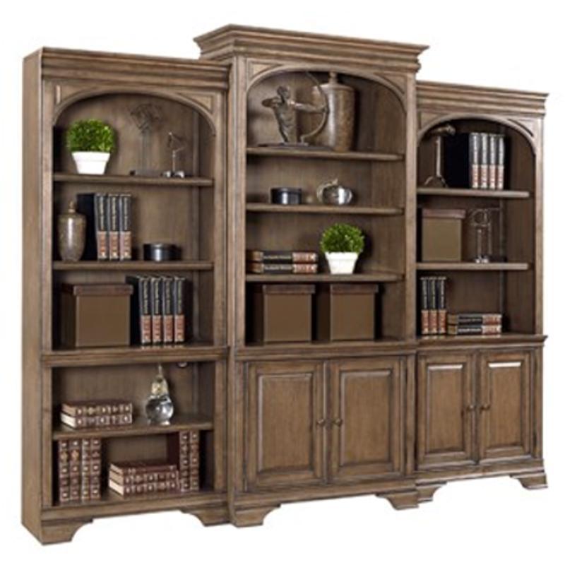 I92 332 Aspen Home Furniture Arcadia Door Bookcase
