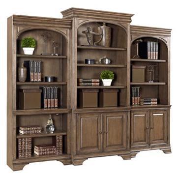 I92 336 Aspen Home Furniture Arcadia Home Office Bookcase. I92 336 Aspen Home Furniture Arcadia Bookcase