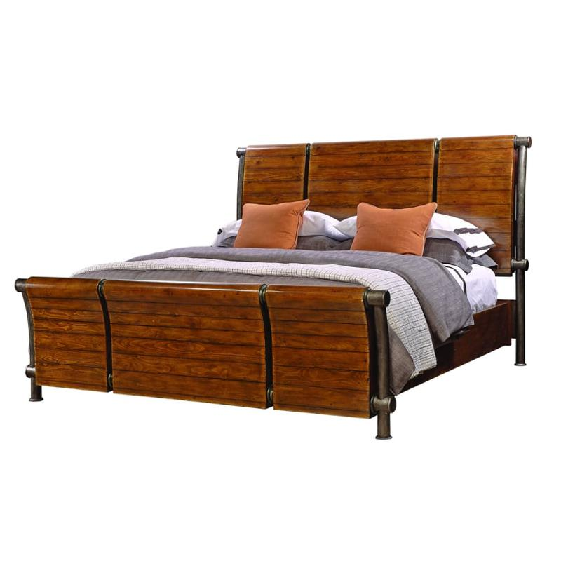 Beau I58 400 Aspen Home Furniture Rockland Bedroom Bed