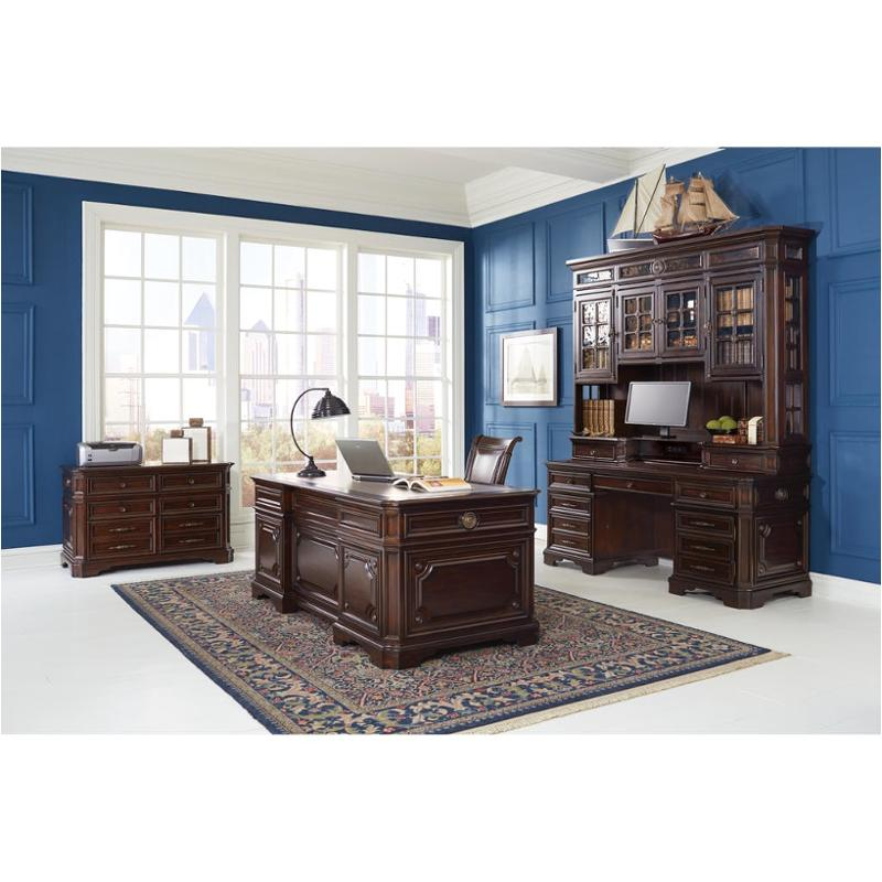 I39 319 Aspen Home Furniture Sheffield 75 Credenza Hutch