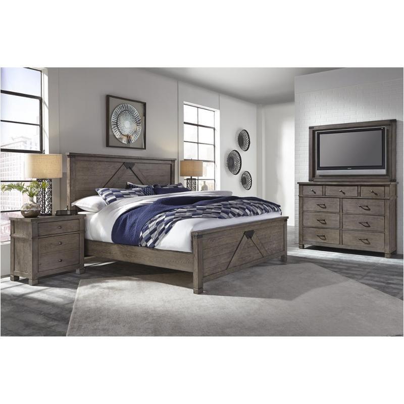 Aspen Bedroom Furniture: I45-425 Aspen Home Furniture Tucker Bedroom King Panel Bed