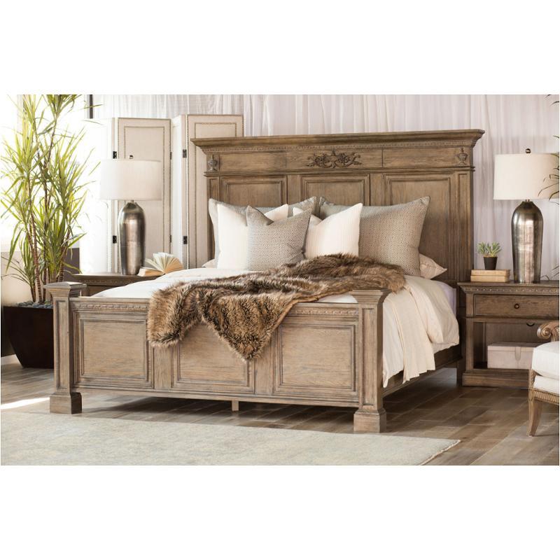 I94 412 Aspen Home Furniture Belle Maison Bedroom Queen Panel Bed