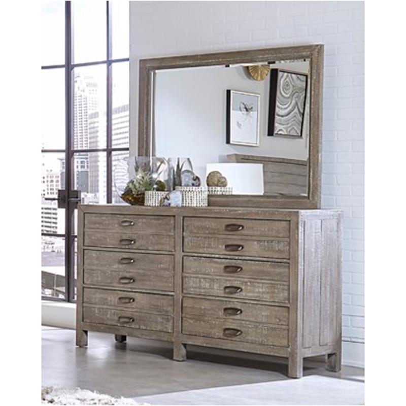 I240 464 Riv Aspen Home Furniture Radiata Landscape Mirror
