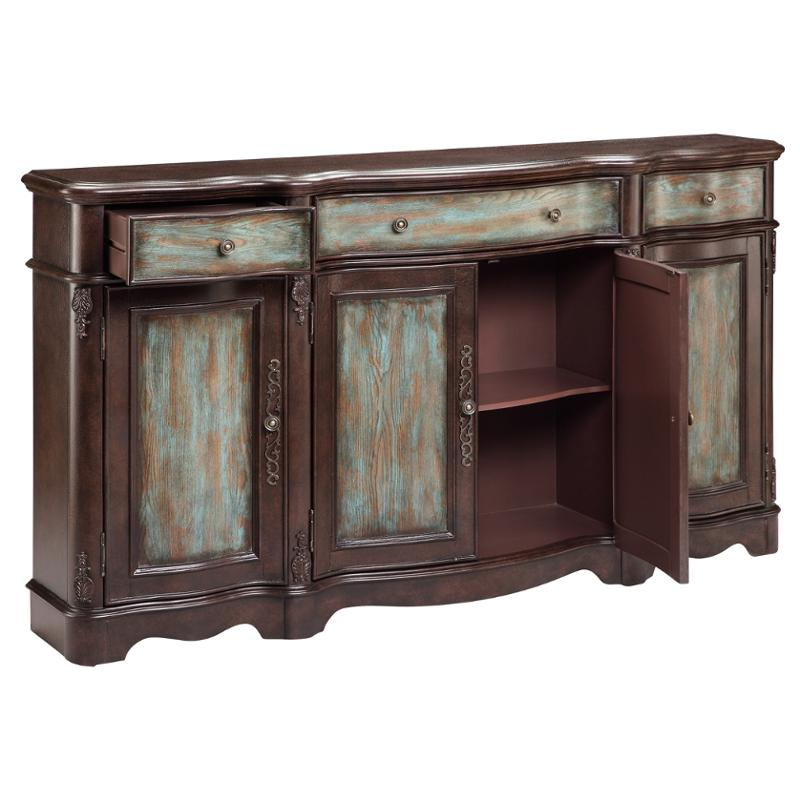 Narrow Credenza: 13209 Stein World Accent Laurie Narrow Credenza