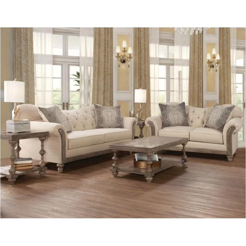 8725 Ls Hughes Furniture Living Room Loveseat