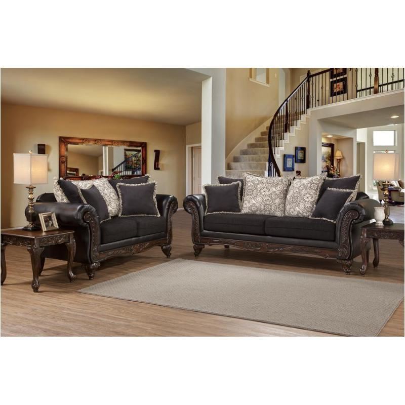 7900 s hughes furniture 7900 living room wood trim sofa rh homelivingfurniture com wood trim fabric sofas wood trim fabric sofas