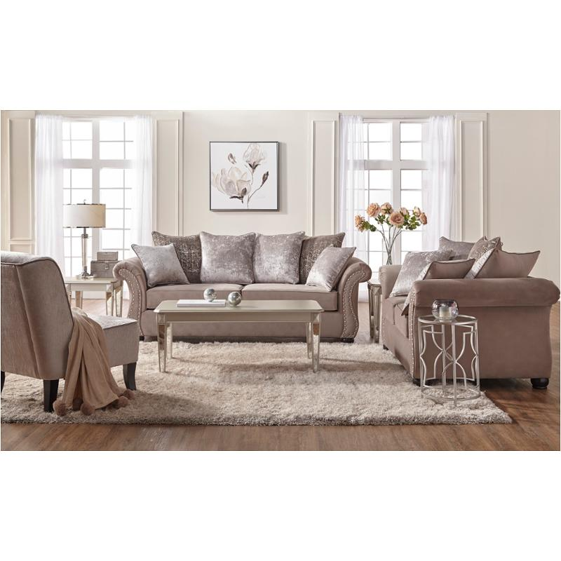 7500 S Hughes Furniture Cosmos Living Room Sofa Table Sofa