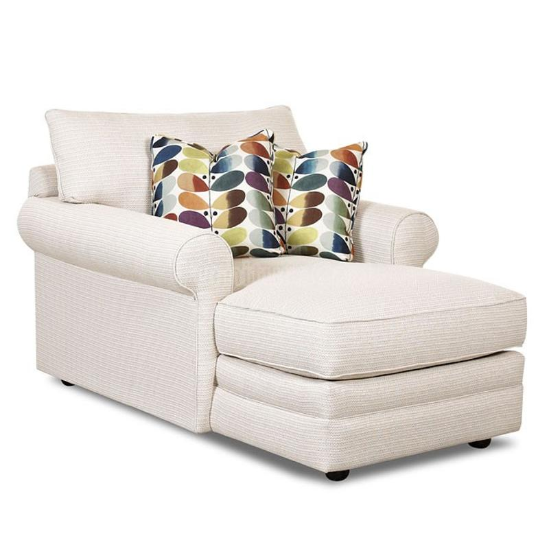 36300 Chase Klaussner Furniture Comfy 2 Arm Chaise
