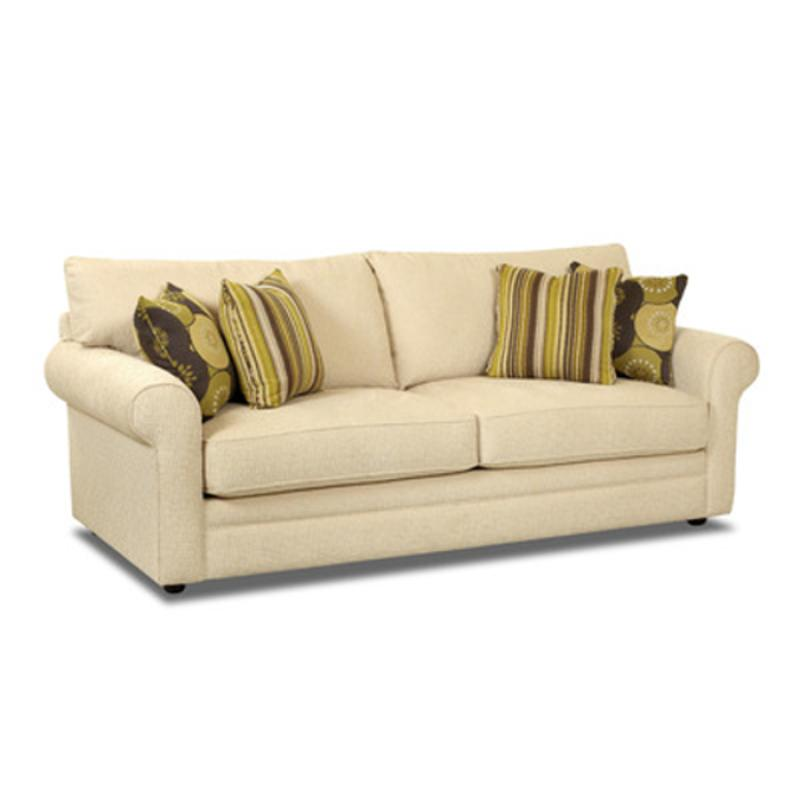 36330-s Klaussner Furniture Comfy Traditional Rolled Arm Sofa