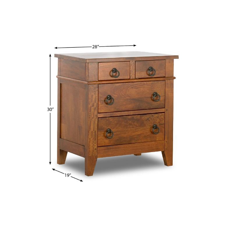 340-670 Klaussner Furniture Urban Craftsmen Bedroom Night Stand