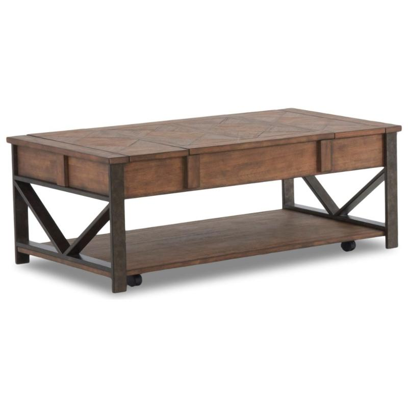 305 821 Klaussner Furniture Parkway Living Room Cocktail Table