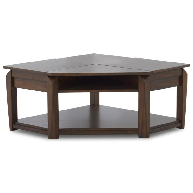 446 821 Klaussner Furniture Wedgeland Living Room Cocktail Table