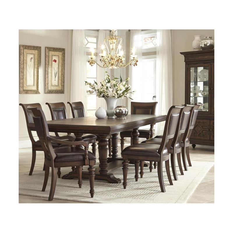 799 108 Klaussner Furniture Palencia Trestle Dining Table