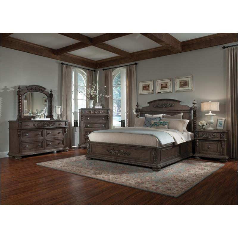 980 066hb Klaussner Furniture Versailles Norman King Bed