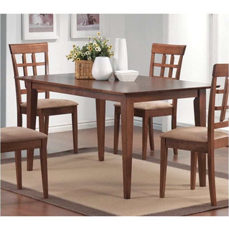 matching dining and living room furniture 101771 coaster furniture mix and match walnut dining 26499