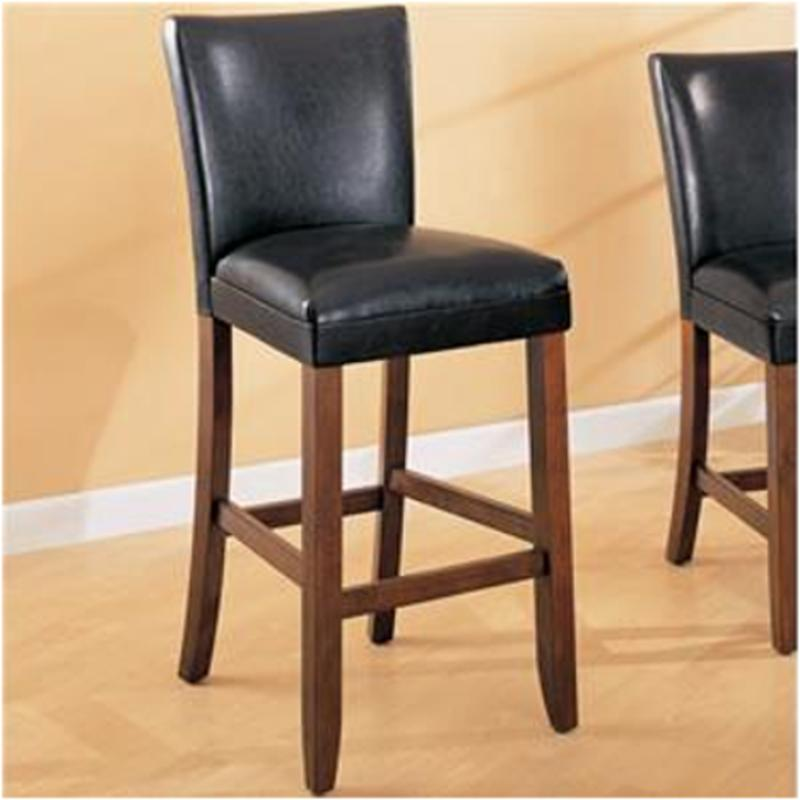 Phenomenal 100387 Coaster Furniture Telegraph 29In Height Barstool Black Theyellowbook Wood Chair Design Ideas Theyellowbookinfo