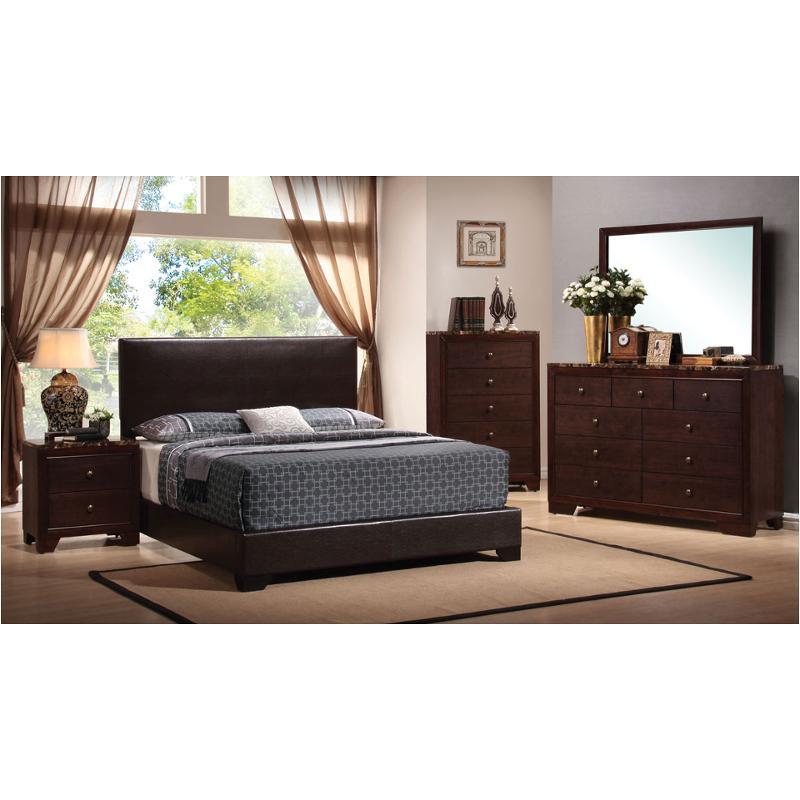 300261qb1 Coaster Furniture Conner Bedroom Queen Platform Bed