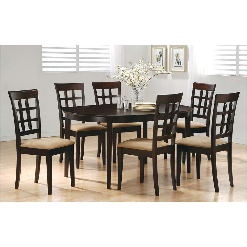 Cappuccino Dining Room Furniture | 100770 Coaster Furniture Mix And Match Cappuccino Table