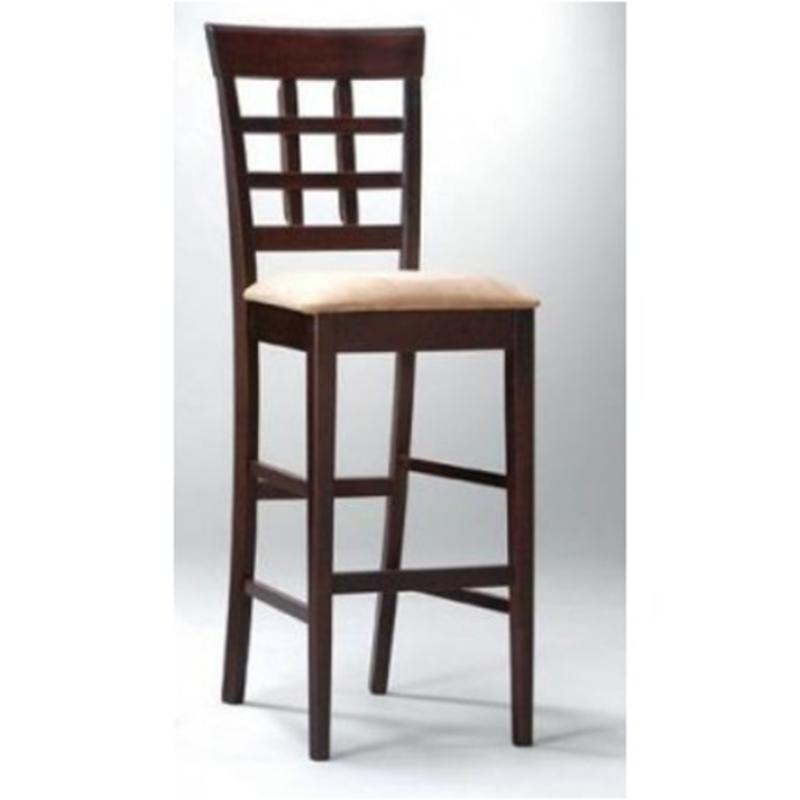 100210 Coaster Furniture Mix And Match   Cappuccino 29in Height Barstool