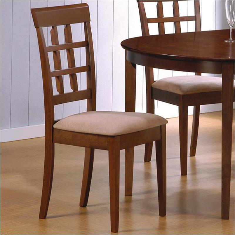 101772 Coaster Furniture Mix And Match Walnut Dining Room Dinette Chair
