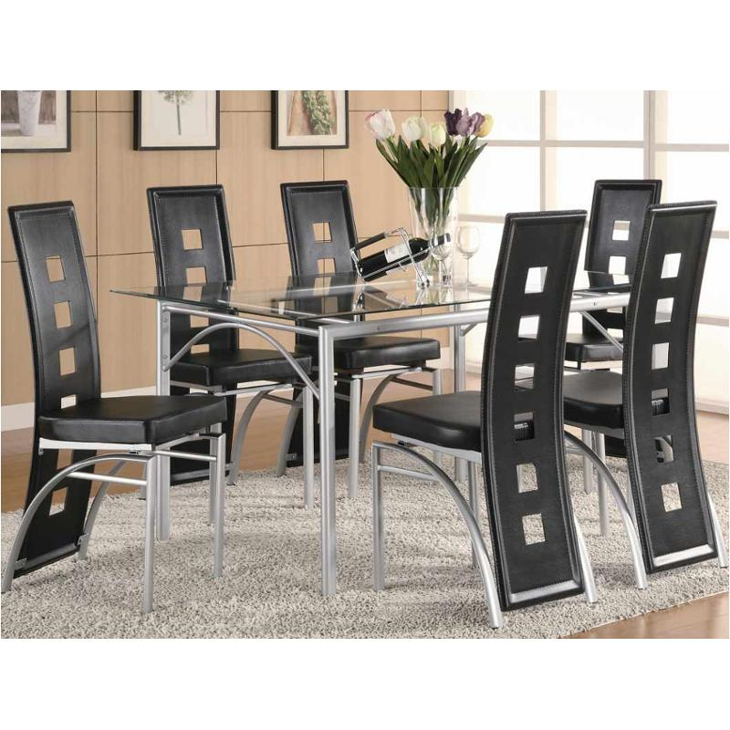 101681 Coaster Furniture Los Feliz Dining Room Dinette Table