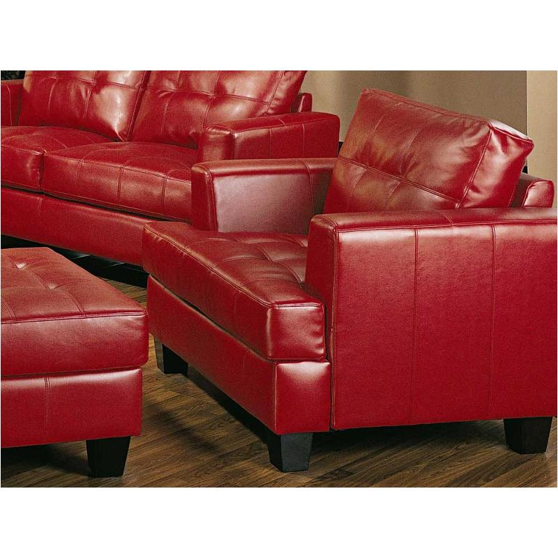 501833 Coaster Furniture Samuel Red Living Room Chair