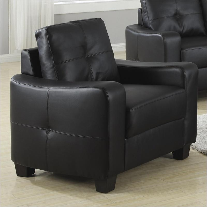502723 Coaster Furniture Jasmine - Black Living Room Chair