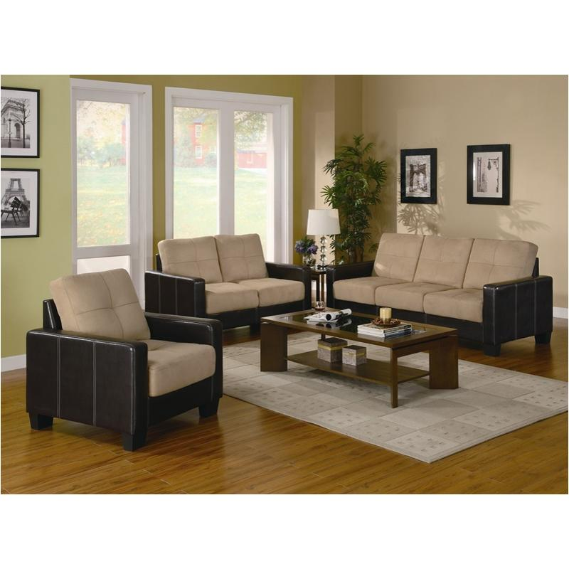 Sensational 500100B1 Coaster Furniture Regatta 3Pc Sofa Set Theyellowbook Wood Chair Design Ideas Theyellowbookinfo
