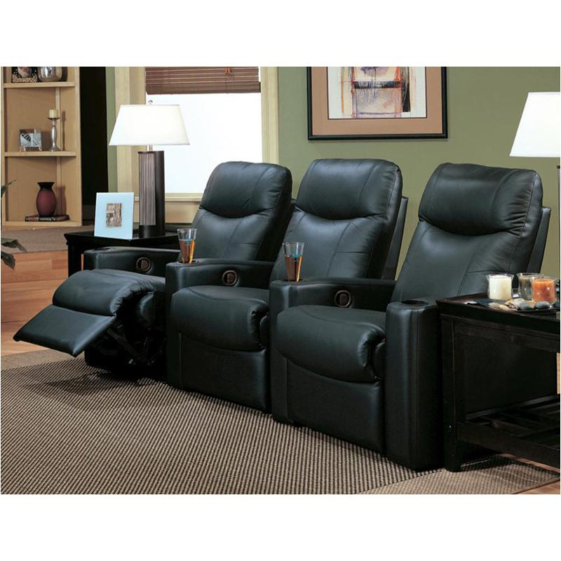 Living Room Theater Reviews: 7537b1 Coaster Furniture Directors Living Room Theater Seats
