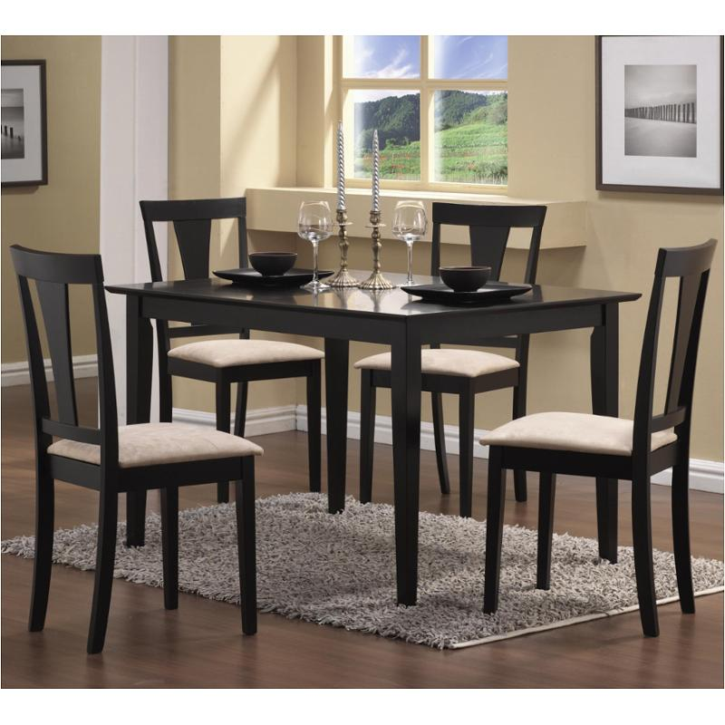 150181n Coaster Furniture Geary 5 Pc Dining Set