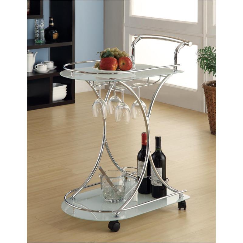 910002 Coaster Furniture Kitchen Carts Serving Cart