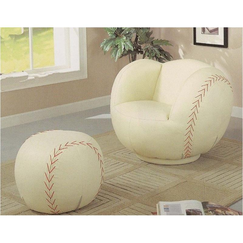 Remarkable 460187 Coaster Furniture Large Kids Chair And Ottoman Ncnpc Chair Design For Home Ncnpcorg