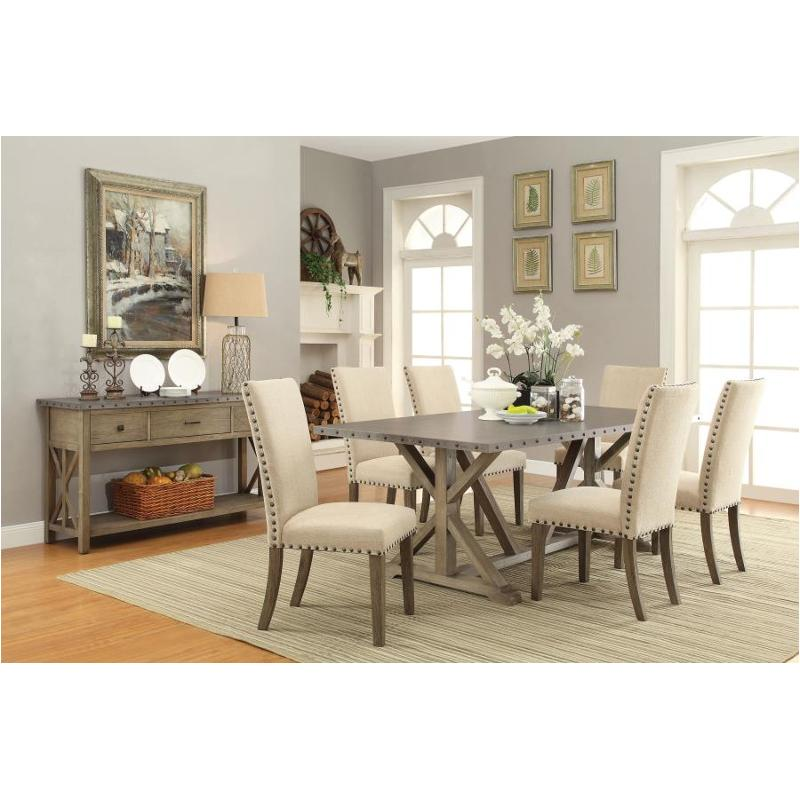 105571 S5 Coaster Furniture Webber 5 Pc Dining Table Set