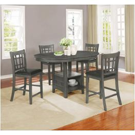 Harrison Counter Height Dining Set 9 Pc