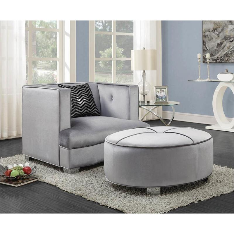 Admirable 505884 Coaster Furniture Bling Game Ottoman Bralicious Painted Fabric Chair Ideas Braliciousco