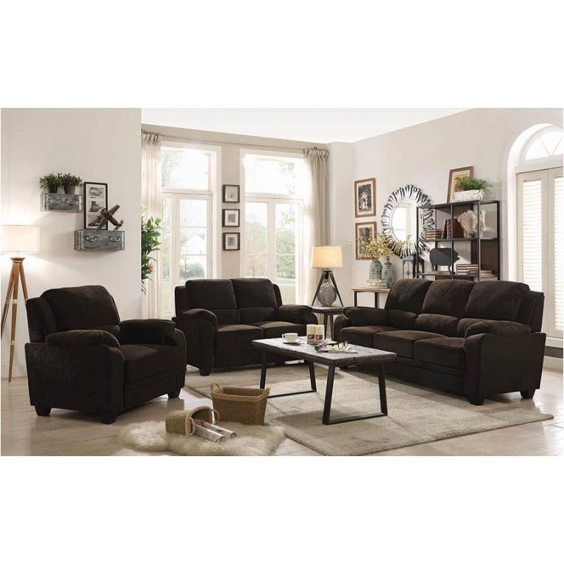 506244 Coaster Furniture Northend - Chocolate Sofa